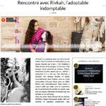 Rencontre avec Rivkah, l'adoptable indomptable - Sun Burns Out oct 2016