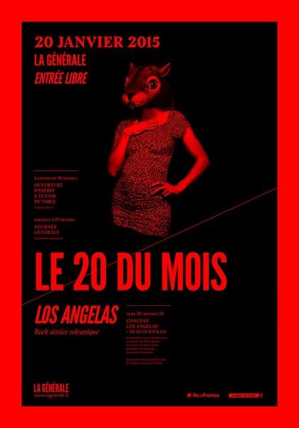 DJ sets à La Générale – Concert Los Angelas