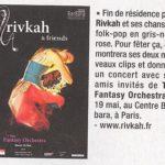 Obsküre #24 rivkah - annonce concert fin de résidence