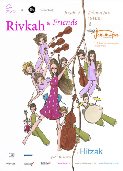 Rivkah an friends décembre 2017