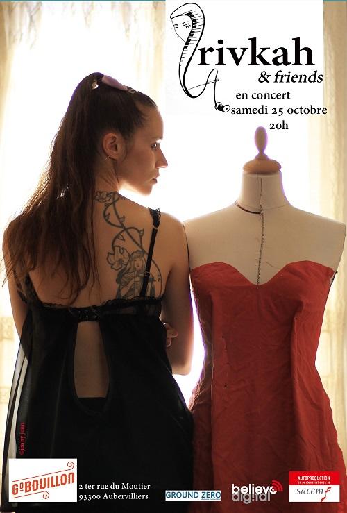 Concert au Grand Bouillon (Aubervilliers) - 25 octobre