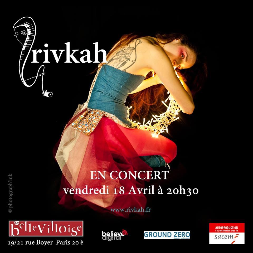 Rivkah La Bellevilloise avril 2014